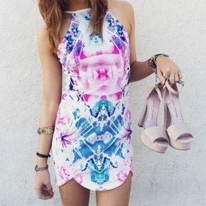 LF/rumor boutique kaleidoscope dress
